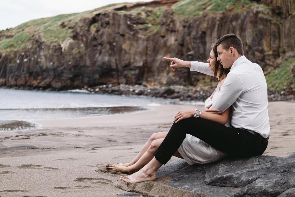 Romantyczna sesja na Maderze