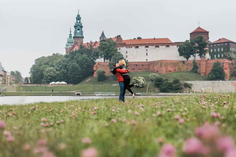 zareczyny w Krakowie fotograf