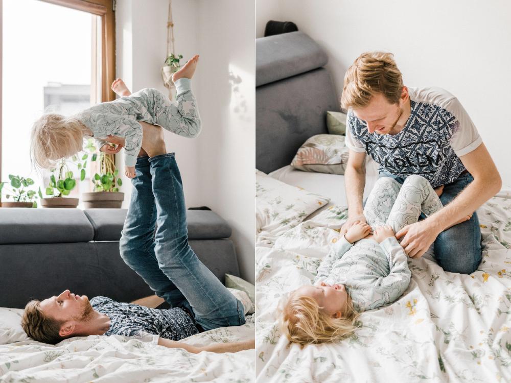 domowa sesja rodzinna krakow