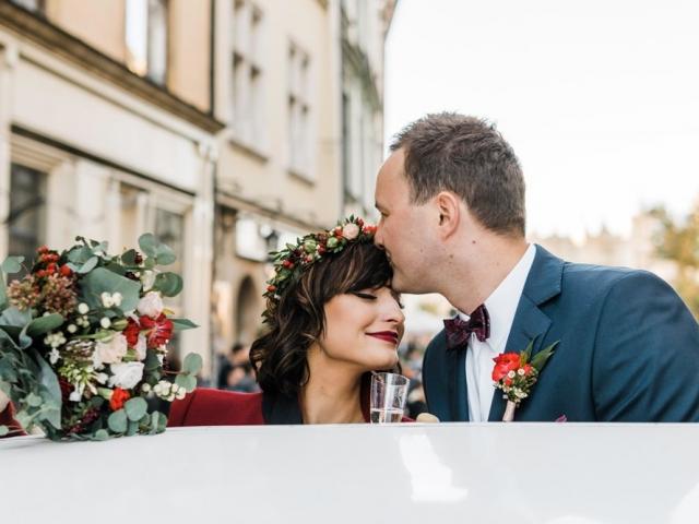 Kameralny slub w Krakowie fotograf