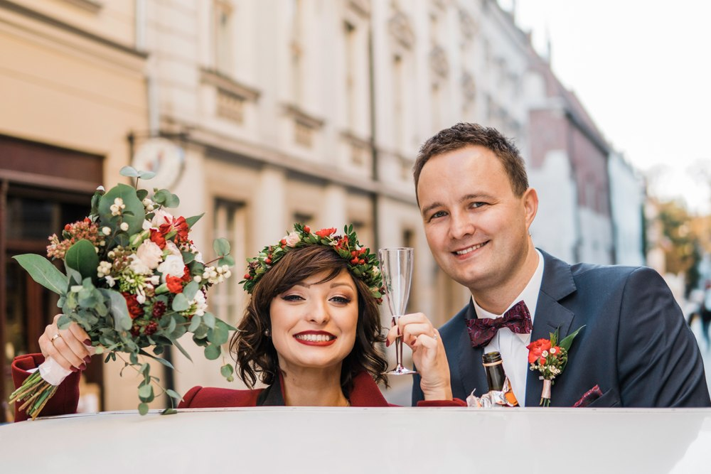 bryczka do slubu krakow fotograf slubny