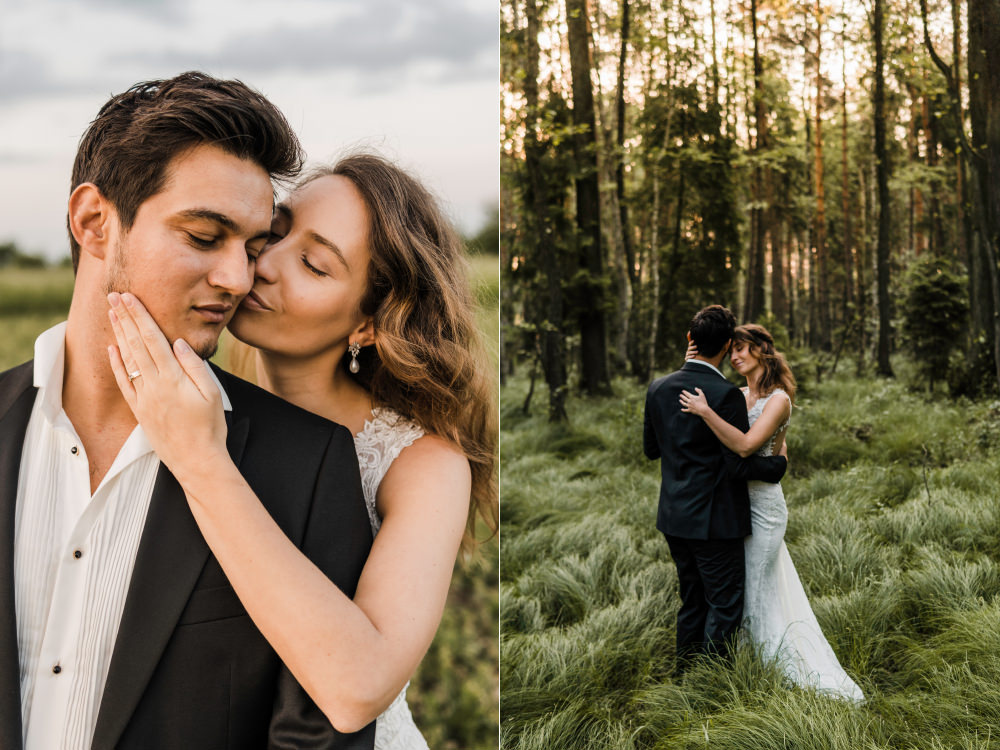 Sesja poslubna w Krakowie