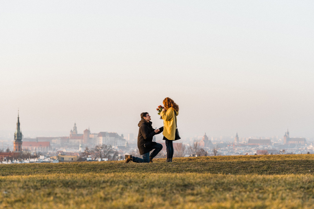 Where to propose in Cracow Kopiec