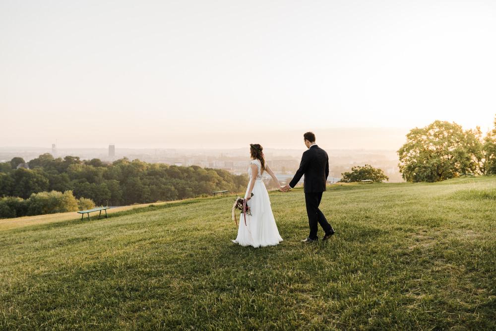 sesja ślubna maseczka