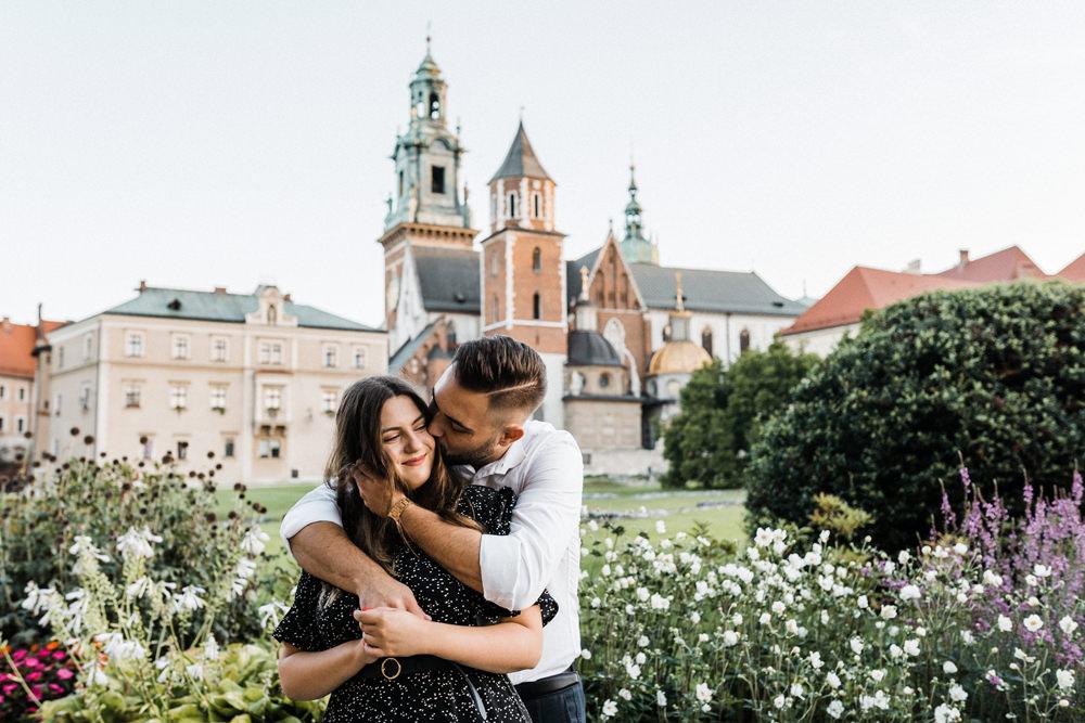 Krakow sesja narzeczenska