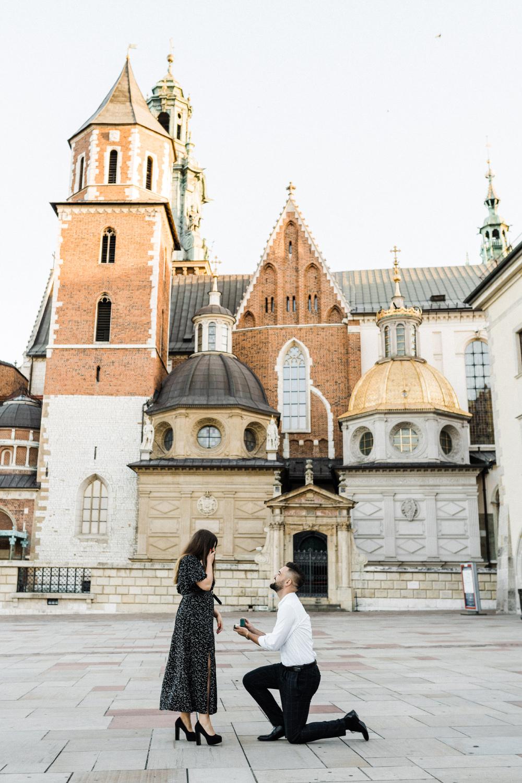 Oswiadczyny na Wawelu