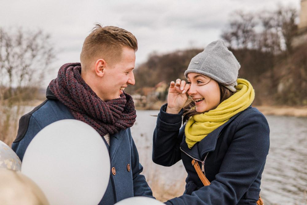 surprise proposal photographer poland