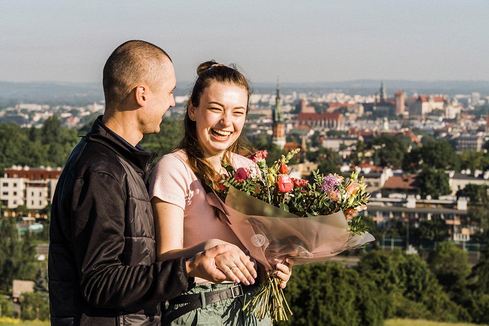 where to propose in cracow Kopiec Kraka